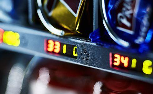Automaty vendingowe - wyświetlacze